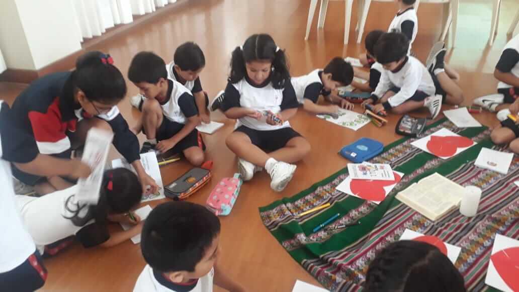 Jornada Espiritual Nivel Inicial: aula de 4 años