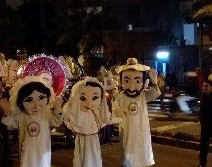 PASEO DE ANTORCHAS Y VELADA BELENISTA