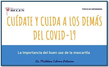 Boletín Nº 4 del Dpto. de Salud.  CUÍDATE Y CUIDA A LOS DEMÁS DEL COVID-19.